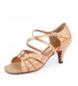 Обувь женская латина 0605 Dance.me, Украина, Lt, 6, Straight, Кедр, Сатин