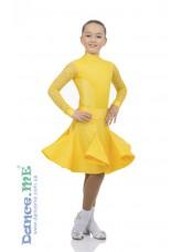 Бейсик 417-180-268-11 Dance.me, Украина, Бифлекс+гипюр, Золотой №15