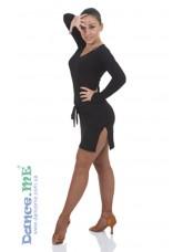 Туника ТН366-ДР Dance.me, Украина, Масло, Черный