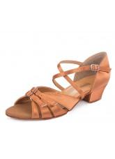 Обувь блок-каблук 30310 Dance.me, Украина, БК, Кедр, Сатин