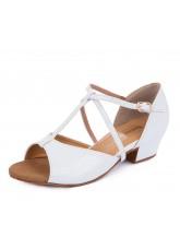 Обувь блок каблук 30215 Dance.me, Украина, БК, Белый