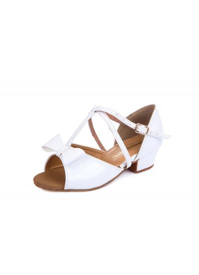 Обувь блок каблук 30210 Dance.me, Украина, БК, Белый