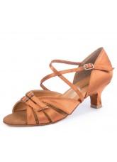 Обувь женская латина 4210 Dance.me, Украина, Lt, 5, Cuban, Кедр, Сатин