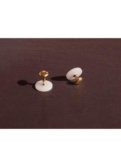 Chrisanne Clover Пуговицы для пластикового воротничка, золото