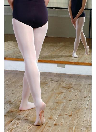 Pridance Трико балетное 514/C, 60 den, 3D с отверстием на стопе