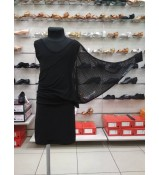 Dance Me Платье детское ПЛ240-6, масло / сетка, черный