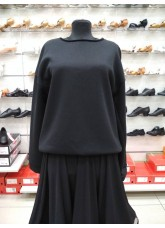 Свитшот женский СВ466 DANCEME, хлопок, черный