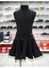 Dance Me Юбка для девочки ЮЛ283-14-Кри, масло, черный