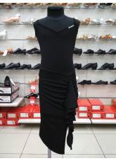 Dance Me Платье детское ПЛ246-18, масло / сетка, черный