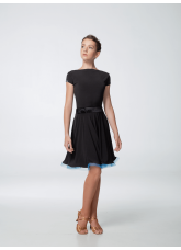 Блуза женская BL353KR Dance.me, Украина, Масло, Черный