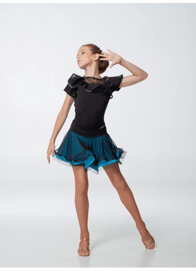 Детская юбка для латины Dance Me ЮЛ363