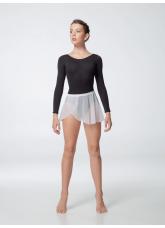 Dance Me Хитон UH59-3 женский, сетка резинка кружево, белый