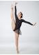Dance Me Юбка-хитон UH59-3 женский, сетка резинка кружево, черный