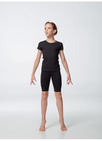Dance Me Шорты ШУ168 детские удлиненные, хлопок, черный