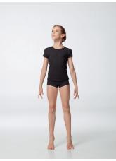 Dance Me Шорты mini ШТ56 детские, хлопок, черный