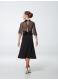 Платье для девочки ПС433-6 Dance.Me, масло+сетка+бархат, черный