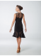 Платье женское Латина ПЛ450-11, масло+сетка+гипюр, черный, Dance.me, Украина