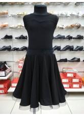 Dance Me Юбка для девочки UL274-14, масло, черный