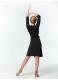 DANCEME Платье-халат PH726DR, масло, черный