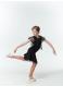 Dance Me Блуза детская BL24-16, масло / сетка черный