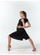 Dance Me Блуза женская БЛ119-17, масло / сетка, черный