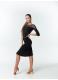 Dance Me Блуза женская BL411DR-17, масло / сетка, черный