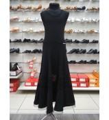DANCEME Юбка для девочки US358-20#, масло / сетка, черный