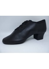 DANCEME Обувь женская для тренировок 4008, черная кожа