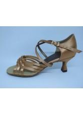 DANCEME SALE Обувь женская для латины 0812, 2-кедр сатин