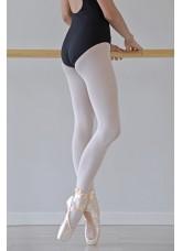 Primavera Трико балетное 513, Bianco, 40 den, с формованной стопой