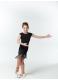 Dance ME Платье детское PL237, масло / бахрома, черный