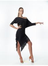 Dance Me Блуза женская БЛ241, масло,  черный