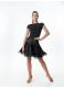 Женская блуза БЛ353-КР для бально-спортивных танцев производства Dance Me