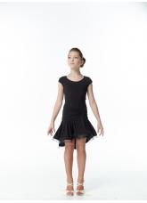 Dance Me Платье детское PL215KR#, Масло кринолин, Черный