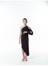 Dance Me Платье детское PL169, масло, черный