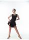 Dance Me Блуза женская БЛ335-17, масло / сетка, черный