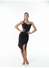 Dance ME Платье женское PL246-18, масло+сетка , черный