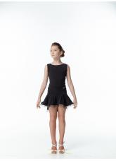 Dance Me Юбка для девочки ЮЛ207-Кр, масло, черный