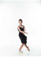 Dance Me Платье детское PL246-18, масло / сетка, черный