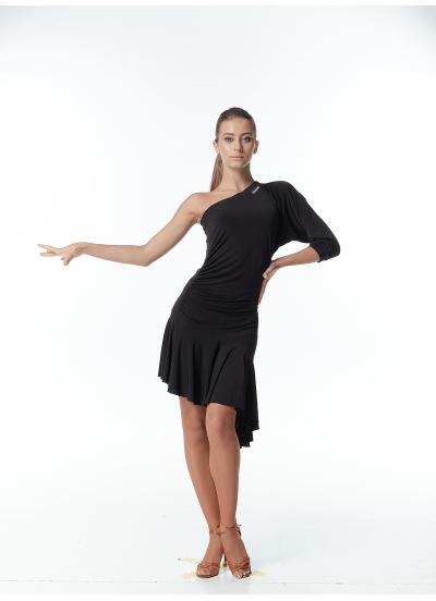 Dance Me Платье женское PL13, масло, черный