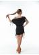 Женское платье-туника Dance Me ТН227 черного цвета