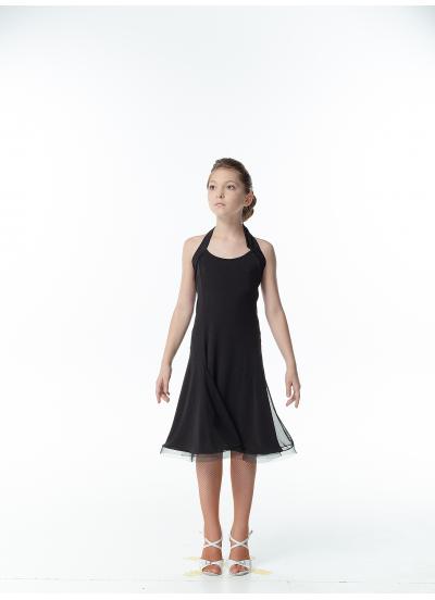 Dance Me Платье трансформер детское ПЛ279, масло, черный