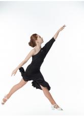 Dance Me Платье детское PL13, масло, черный