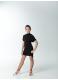 Детское платье-туника Dance Me ТН227 черного цвета