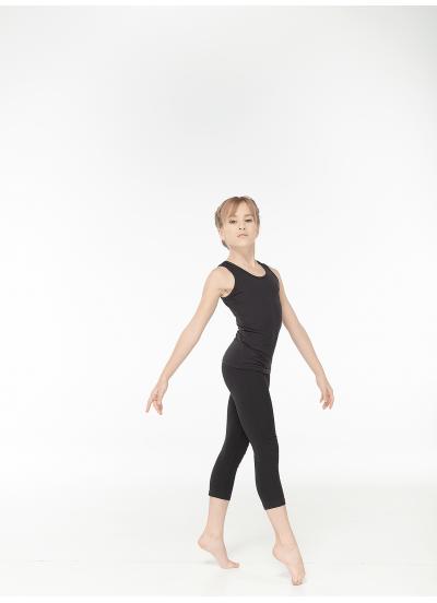 Майка детская М308 Dance.me, Хлопок, Черный