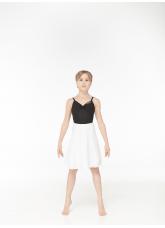 Dance Me Хитон HT1 женский, шифон, белый, размер M