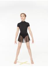 Dance Me Юбка-хитон детская UH54-6, сетка, черный