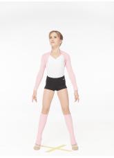 Dance Me Рукава открытые 2х2, шерсть, розовый S