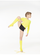 Dance Me Гетры, акрил, лимонный (21)