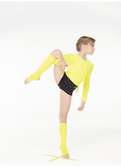 Dance Me Гетры RG1, акрил, лимонный (21)